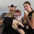 Lexi, Kurt und Damian