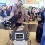 Dee am Airport Las Palmas 2012