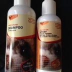 shampoo und spray
