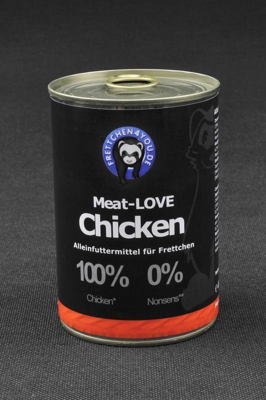 6x400g Dose Meat-LOVE Hühnchen